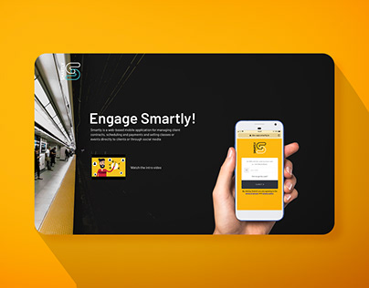 Smartly Landing Page