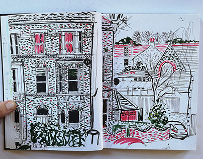 Chronicles of everyday - Sketchbook journals