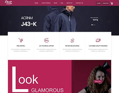 E-Commerce Marketplace Website for Beauty Salons