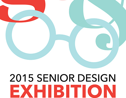 2015 Senior Design Exhibition Postcard