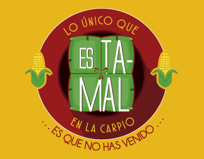 """IDENTIDAD VISUAL FERIA de Comida en """"La Carpio"""""""