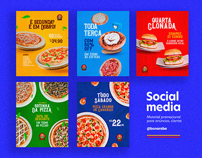 Social Media - Material Promocional Bonarabe