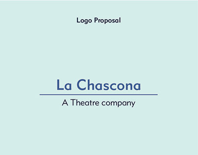 Logo proposals for La Chascona