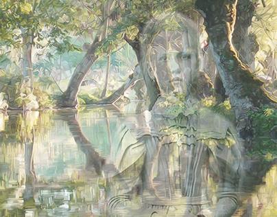 La Jeune Fille du marais.