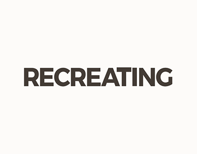'Recreating' Opening Title