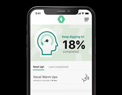 Mental training App for Athletes
