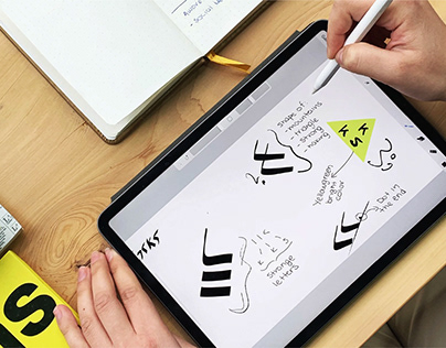 Kicks brand and identity design by Awove