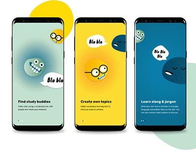 Bla Bla Vocabulary App