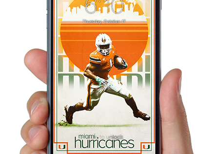Miami Hurricanes Projects Photos Videos Logos Illustrations And Branding On Behance