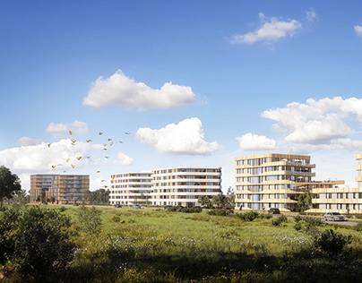 Residential Complex Visualisations in Holland