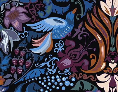 "Pattern ""Magic Birds"""