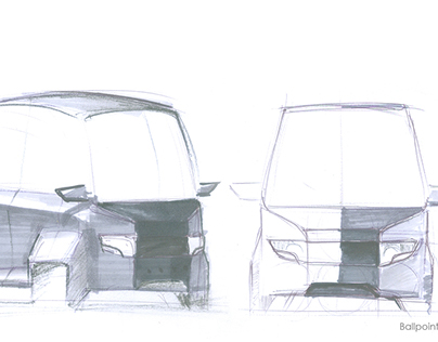 Surfaces, sketches and renders