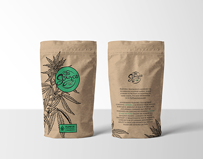 Cannabis package design