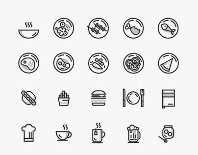 FREE FOOD ICONS DOWNLOAD