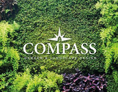Compass - Garden & Landscape Design. Logo Design