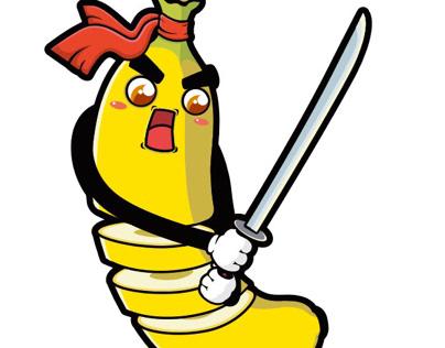 banana samurai