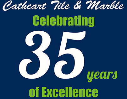 Cathcart Tile & Marble 35th Anniversary T-shirt Design