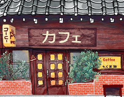 Japan House Sketch