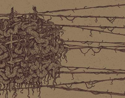 "Dreare ""Blank and Forward"" album artwork"