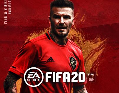 David Beckham FIFA 20 Cover