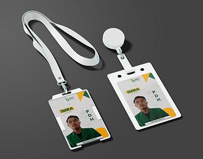ID Card Design for BAKTI UNAND 2021