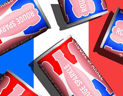 Orangina Rouge, Beaujolais Nouveau promotional item