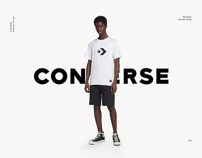 CONVERSE   UI/UX Design