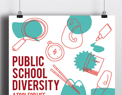 Pro Public Schools Poster