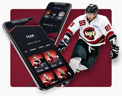 Cologne Smilies Hockey / Webdesign / UI-Design