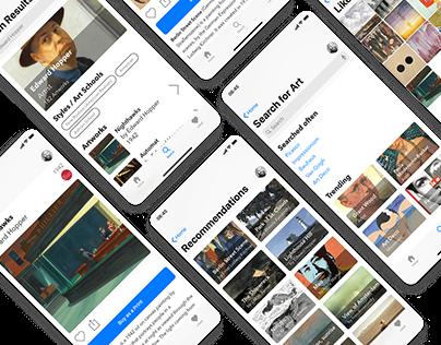 art (e) fact - UX/UI Design