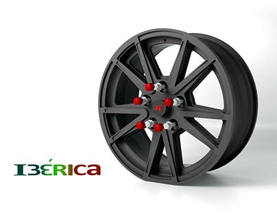 IBÉRICA. Aluminium wheel.