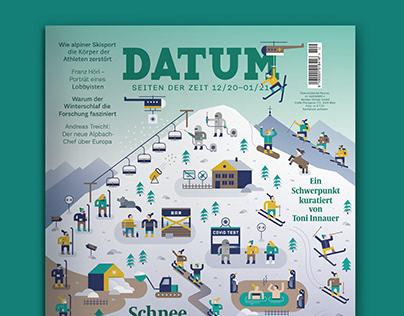 Cover for DATUM Magazine 12/20-01/21