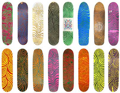 Skateboard Grip Tape Design