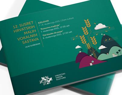 Croatian Cultural Association Manifestations