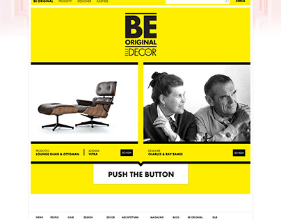 Be Original - ELLE DECOR - Website