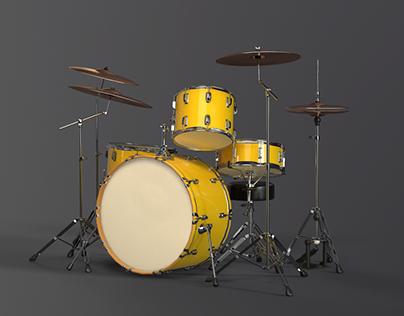 The Lava - Drum Kit