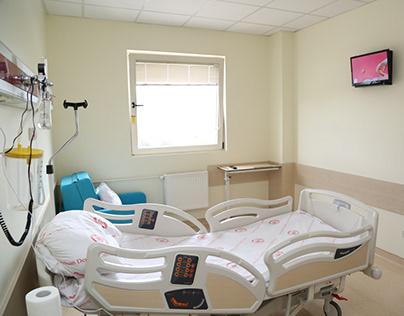 Hasta Odalarında Hasta Yatakları