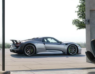 Porsche Luxury Lifestyle - CGI & Retouching