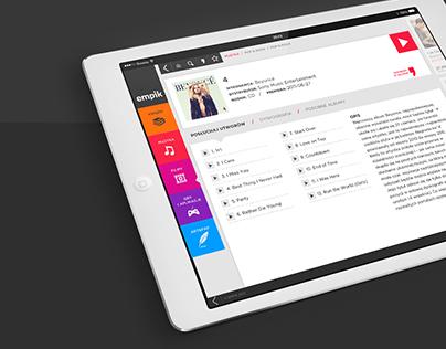 Empik / conceptual Mobile App Design
