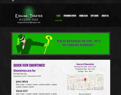 Enigma Theatre (Fictitious)