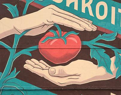 """""""Bakoitza"""" Wall (Donostia, Basque Country)"""