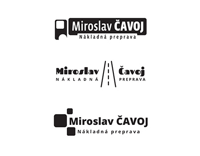Logo design for freight transport