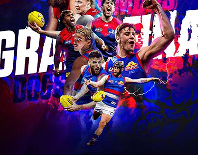 AFL Grand Final - Promotional Artwork