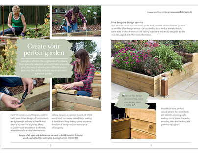 WoodblocX promotional brochure