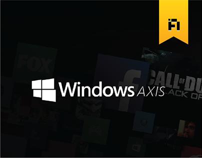 Windows Axis- A redesign concept