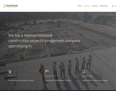 Vesscorp Website