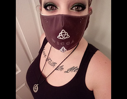 WICCA face mask
