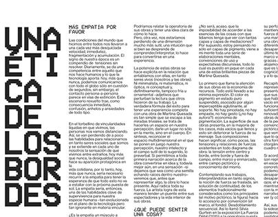 MARTINA QUESADA / WEB DESIGN