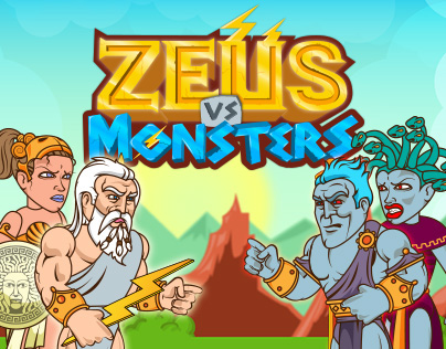 Zeus vs Monsters - Educational Math Game for Kids