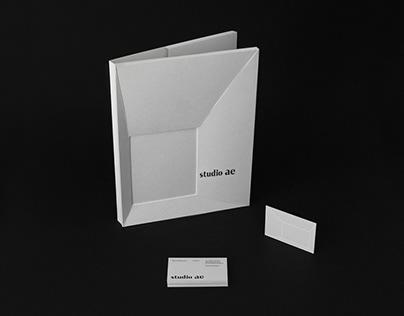 Studio AE - Branding for an architecture studio.